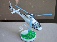 Helicopter Scale Model