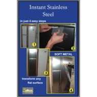 Faux stainless steel appliances...need to use for a mark on my stove.