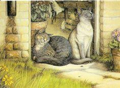 Sunshine In February: Zoe's Cats.