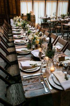 Woodland Wedding, Rustic Wedding, Wedding Reception, Wedding Ideas, Reception Table, Fall Wedding, New York Wineries, Family Style Weddings, Real Weddings