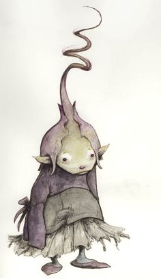 Brian Froud Goblin. The kids wound dig this!