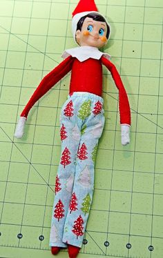 Sewlovele: Elf on the Shelf Clothes