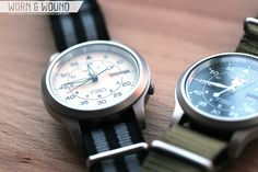 Seiko Military Watches SNK809 and SNK 803