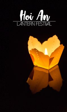 Hoi An Lantern Festival Guide & Dates | Heading to Hoi An and want to visit the Hoi An Lantern festival? Complete guide to the lantern festival with 2017 & 2018 dates.