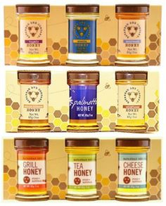 Savannah Bee Company Honey Sample Set