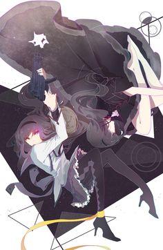 Anime - madoka magica, homura akemi