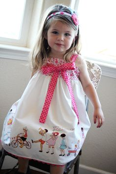 Girl inspired dress on Etsy. Idea to steal...