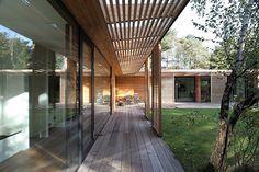 Danish Atrium Home