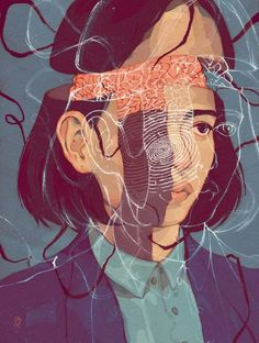 """""""Sometimes, I feel like ripping apart my skin, and searching for a reason for why I feel this empty. Maybe my veins are tangled, or something is lodged in my ribcage. Because it feels like something inside of me is missing or broken."""" —Unknown #ToBeVulnerablyHonest artwork by Sarah Gonzales"""
