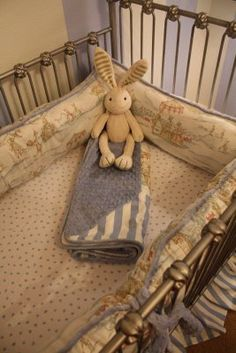 Beatrix Potter nursery design . . . not exactly what I'd want do, but definitely along these lines.