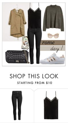 """""""rome trip"""" by tippi-h ❤ liked on Polyvore featuring Alexander McQueen and Chloé"""