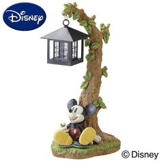 Mickey Mouse Garden Solar Light. Mickey Mouse House, Mickey Minnie Mouse, Mickey Bathroom, Disney Garden, Mickey Love, Disney Souvenirs, Cute Bedroom Decor, Mickey Christmas, Disney Home Decor