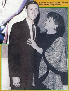 Brent Spiner and Judy Garland