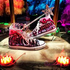 Who SAYS you have to wear heels for your quince?! Check out this alternative!