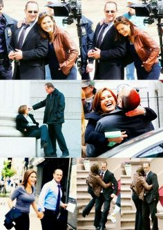 Christopher meloni and Mariska hargitay perfect!!