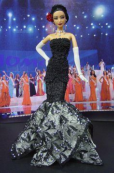 Miss Portugal 2005/2006 Barbie Miss, Barbie And Ken, Barbie Style, Beautiful Barbie Dolls, Vintage Barbie Dolls, Barbie Princess, Black Barbie, Little Doll, Barbie World