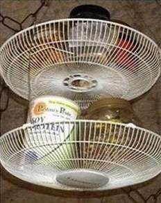 10 idee per riciclare il vecchio ventilatore rotto