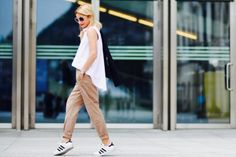 4 Easy Ways to Wear Camel Pants