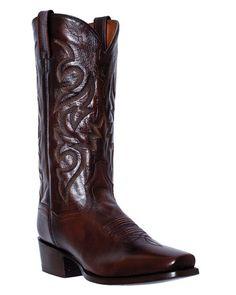 Dan Post Mens Brown Mignon Leather Milwaukee CS Cowboy Boots #DP2212