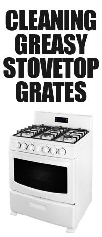 If you have a gas stovetop, here's all you need to do to clean your greasy stovetop and grates.  Nothing overly challenging or scary here!