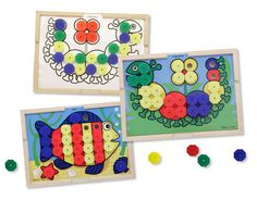 Melissa-&-doug Melissa & Doug Sort And Snap Colour Match | Buy Online in South Africa | TAKEALOT.com