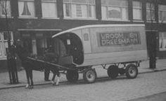 Vroom en Dreesman (V&D) bracht bestellingen rond met klanten op de Gordelweg