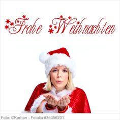 Wandtattoo - Frohe Weihnachten mit Schneeflocken