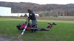Worlds largest RC Heli - Red Bull Cobra (hobby class turbine, Josef Schm...