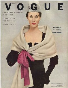 November Vogue 1952  By Frances Mclaughlin-Gill