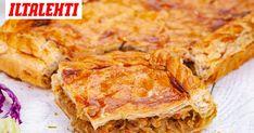 Mikään ei voita juuri uunista tulleen, omatekoisen piirakan tuoksua. Lasagna, Bakery, Brunch, Food And Drink, Snacks, Cooking, Ethnic Recipes, Eggs, Kitchen