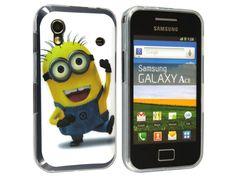 Silikónový kryt (obal) pre Samsung Galaxy Ace - mimoň (Despicable me)