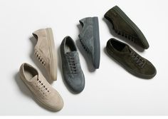 The New Common Projects Sneaker Collection Has Arrived Pumas Shoes, Men's Shoes, Stylish Work Outfits, Minimalist Shoes, Common Projects, Shoes Photo, New Sneakers, Mens Fashion Shoes, Suede Material