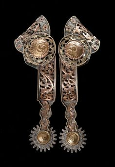 Extraordinary Edward H. Bohlin Spurs- (They're made by Bohlin, you know they'll be awesome)! Spurs Western, Cowboy Spurs, Western Horse Tack, Western Saddles, Cowboy Art, Cowboy And Cowgirl, Dove Wing, Spur Straps, The Lone Ranger