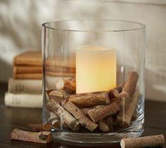 Birch Halves Vase Filler   Pottery Barn, authentic birch chips, 5oz, $19.50.