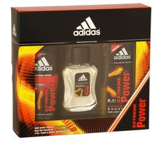 Adidas extreme power 3 piece eau de toilette gift set Adidas, Shower Gel, Deodorant, Chemistry, Health And Beauty, Household, Fragrance, Range, Fish