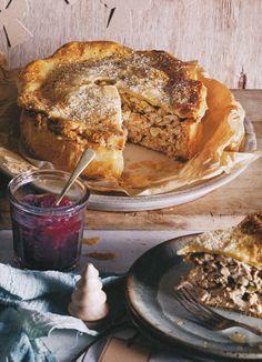 Turkey Pie by Steve Cumper, WOW that is a beautiful pie