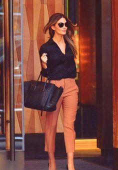 Lily Aldridge street style. corporate fashion. CORMONY.