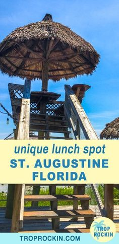 The Conch House in St. Augustine, Florida is a truly unique restaurant. Dine for lunch in a crows nest overlooking the marina and waterway. Florida Vacation Spots, Florida Hotels, Visit Florida, Old Florida, Florida Travel, Florida Beaches, Travel Usa, Florida Trips, Vacation Ideas