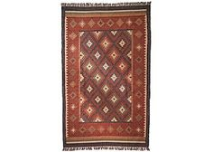 image of Kotri Diamond Wool Jute Rug 180 x 240 cm Chinese Furniture, Wood Furniture, Jute Rug, Kilim Rugs, Asian Rugs, Soft Furnishings, Modern Contemporary, Oriental, Wool