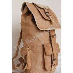 Leather Backpack : Leather Backpack / Shoulder Bag / Messenger bag