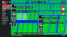 Przykładowe ujęcie z kamery termograficznej HD - source:InfraTec