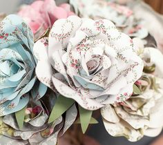 Make It Now With Cricut Explore - Cut Perfect Paper Roses Every Time With A Click Of A Button
