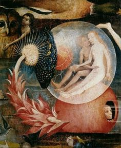 The Garden of Earthly Delights - detail, center panel