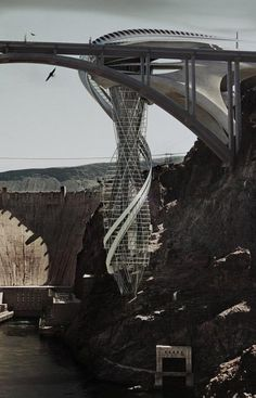 conceptual design | Vertical Strip Tease: Upside-Down Las Vegas Skyscraper