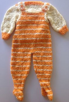 Knitted Boucle Baby Jumper and Pants Set on Etsy, $20.00 AUD