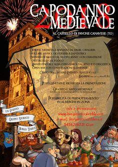 Italia Medievale: Capodanno Medievale al Castello di Pavone Canavese...