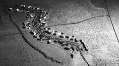 Linear Continuous System, model of Masovia Belt, designed by Oskar Hansen and team, 1968. Copyrights Oskar Hansen Archive, courtesy Igor Hansen