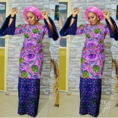 """62 Likes, 1 Comments - Ankara Collections (@ankaracollections) on Instagram: """"#asoebi #ankaracollections #bellanaijaweddings #nigerianwedding"""""""