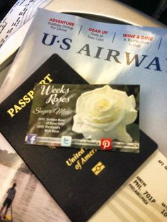 #SugarMoon likes traveling #USAirways when she goes out to greet her fans! Thank goodness she remembered her passport...
