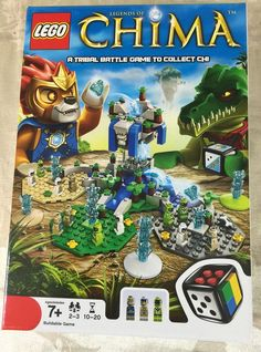 LEGO Games Legends of Chima (50006) New Ages 7+  #LEGO